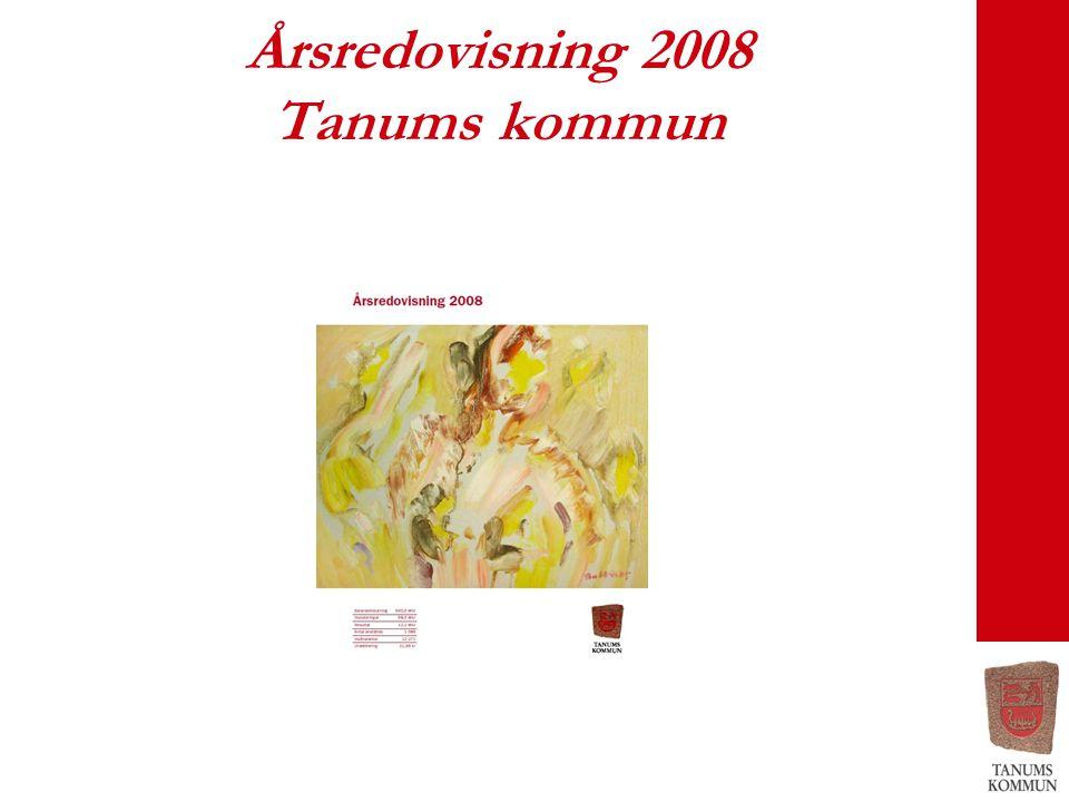 Årsredovisning 2008 Tanums kommun