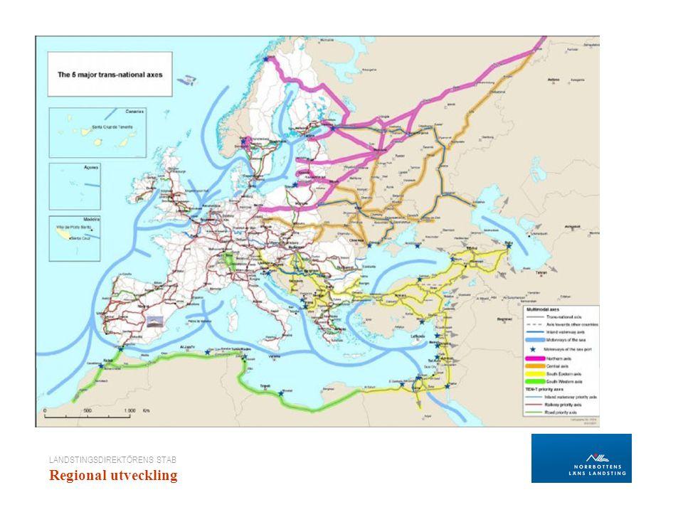 LANDSTINGSDIREKTÖRENS STAB Regional utveckling