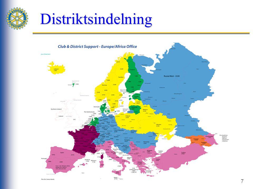 7 Distriktsindelning Distriktsindelning