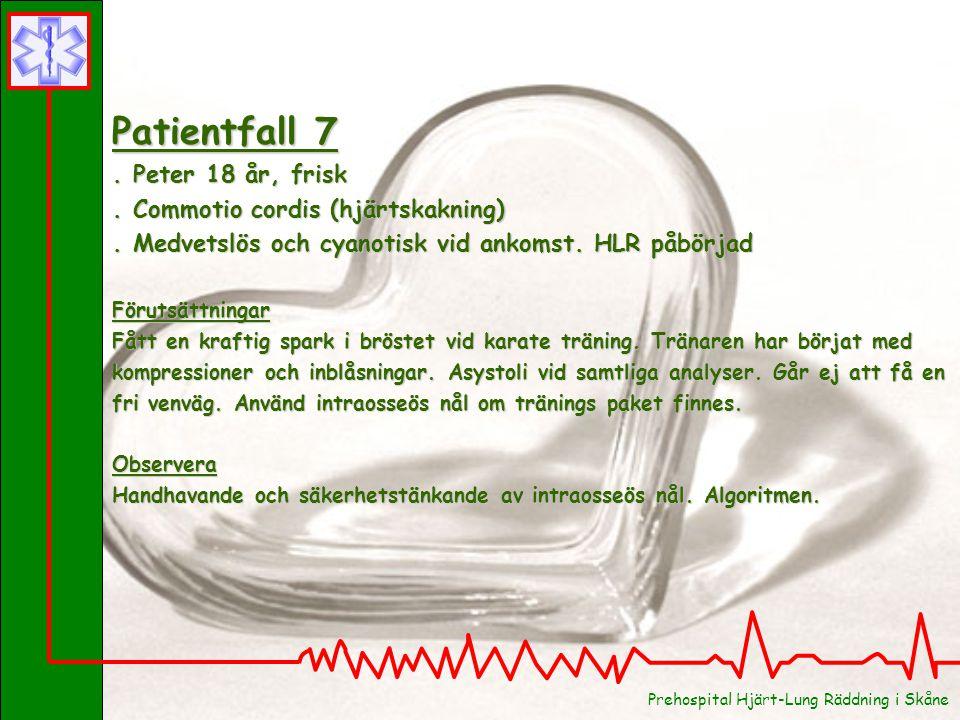 Patientfall 8.Jan 48 år, hypertoni och storrökare.