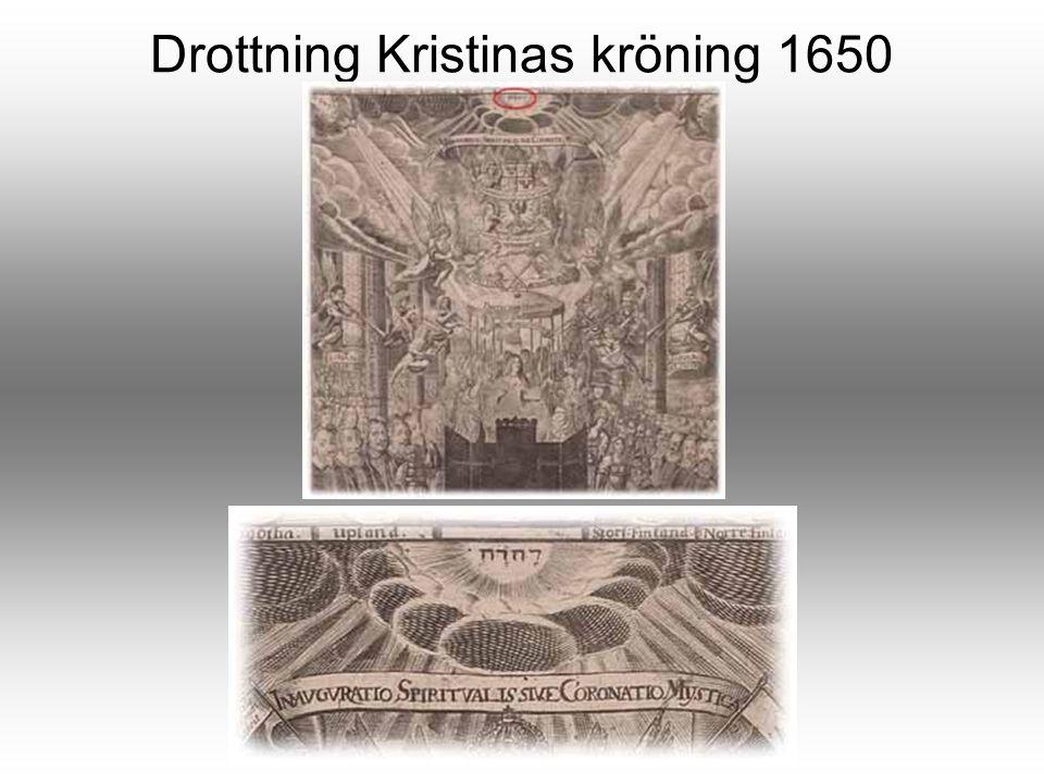 Drottning Kristinas kröning 1650