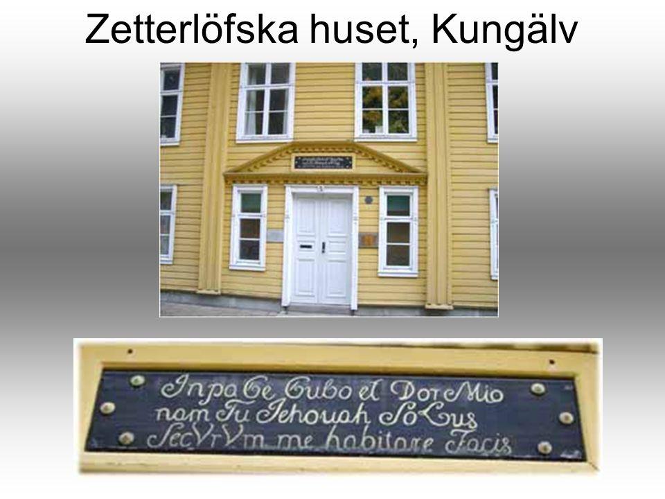 Zetterlöfska huset, Kungälv