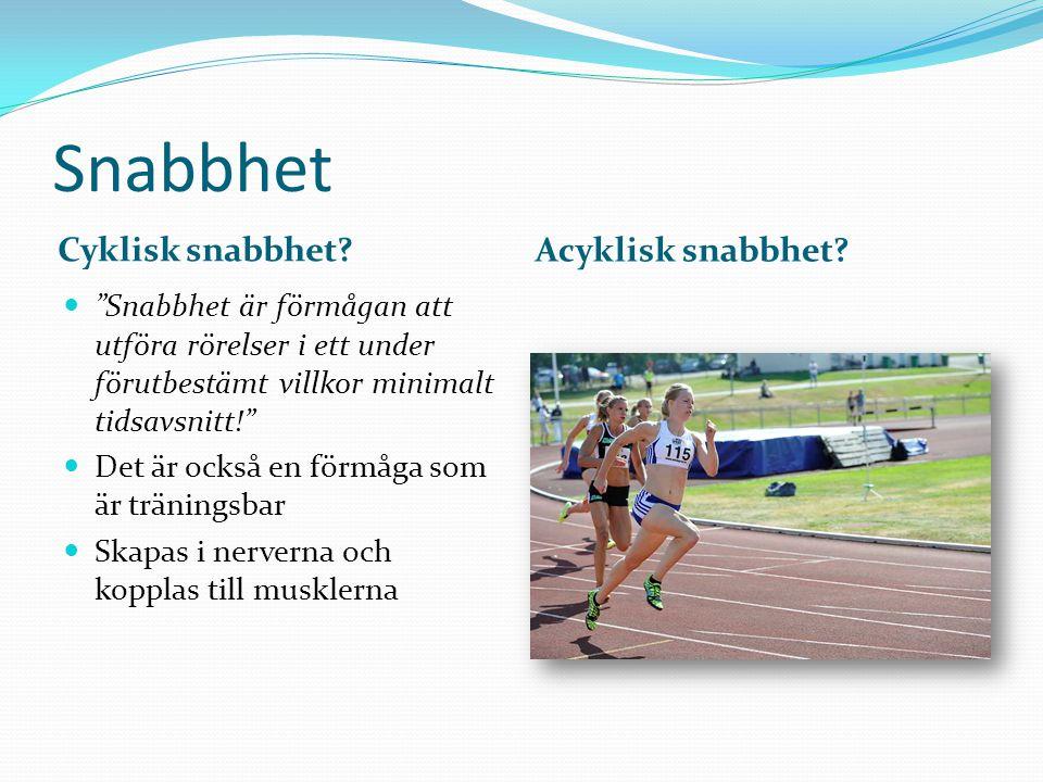Snabbhet Hur ser ett sprintlopp ut.Stafett- träning.