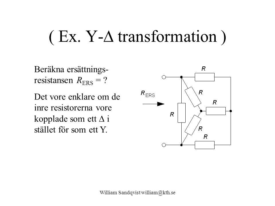 William Sandqvist william@kth.se ( Ex.