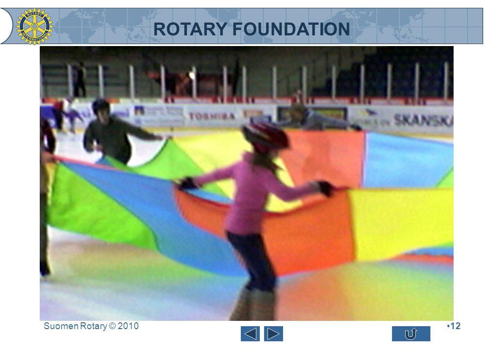 ROTARY FOUNDATION Suomen Rotary © 201012