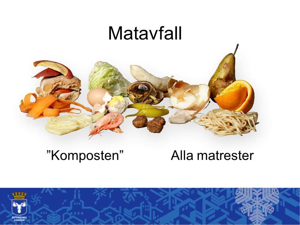 """Matavfall """"Komposten"""" Alla matrester"""