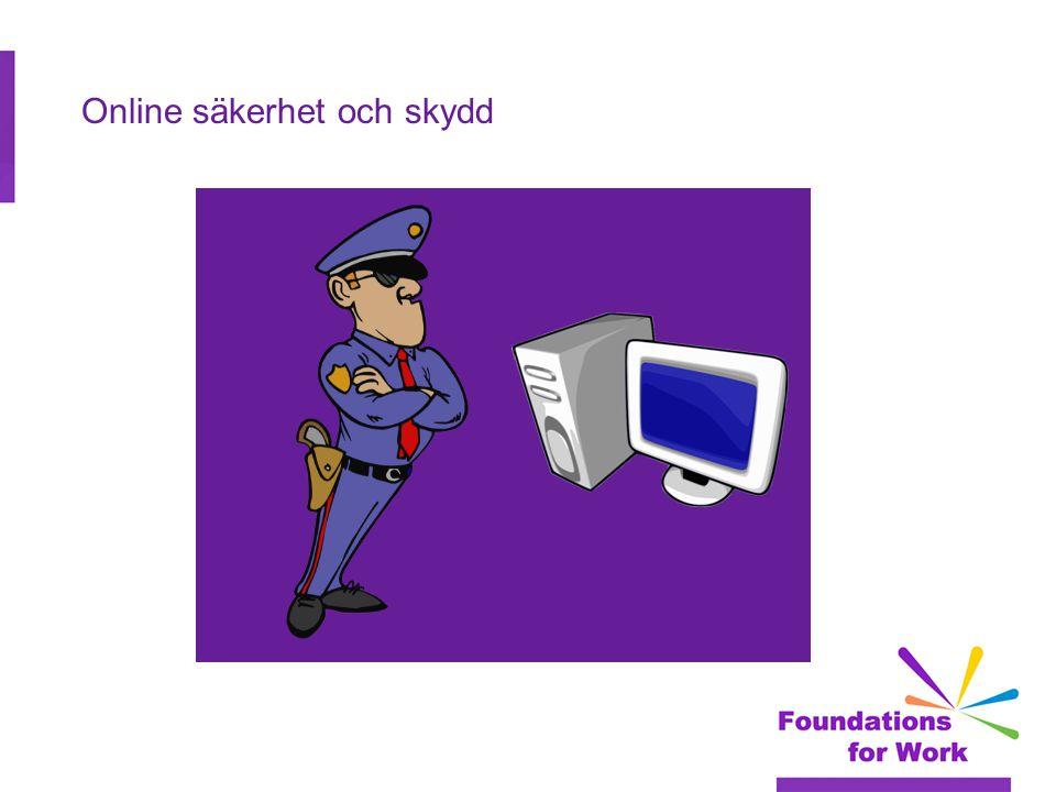 Online säkerhet och skydd