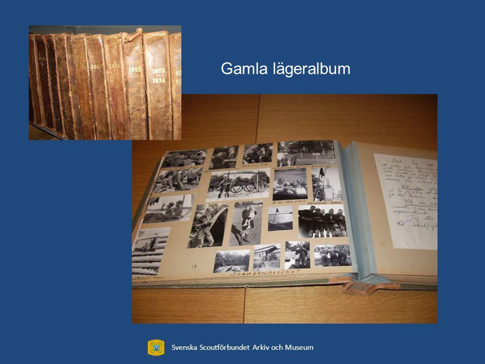 Biblioteket 2500 böcker Svenska Scoutförbundet Arkiv och Museum