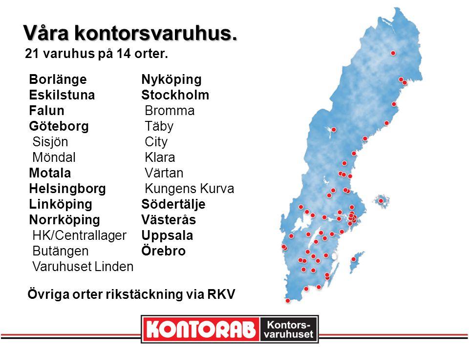 RKV - Rationella KontorsVaruinköp.Sveriges största inköpsorganisation inom kontorsvarubranschen.