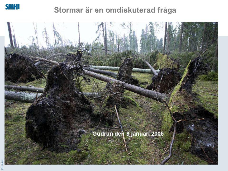 2015-04-01 Stormar är en omdiskuterad fråga Gudrun den 8 januari 2005