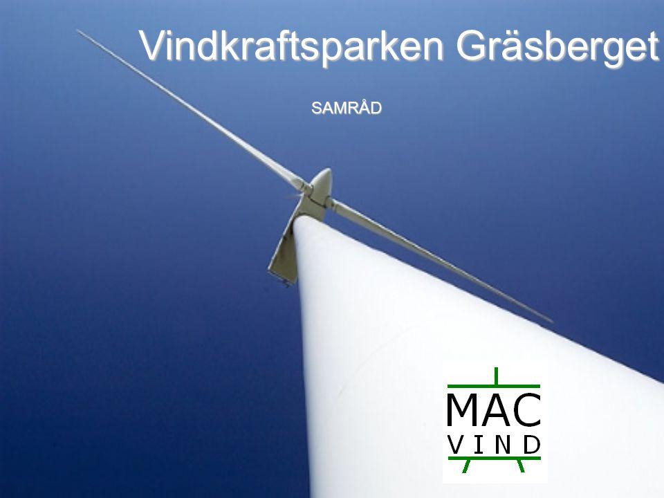 Vindkraftsparken Gräsberget SAMRÅD