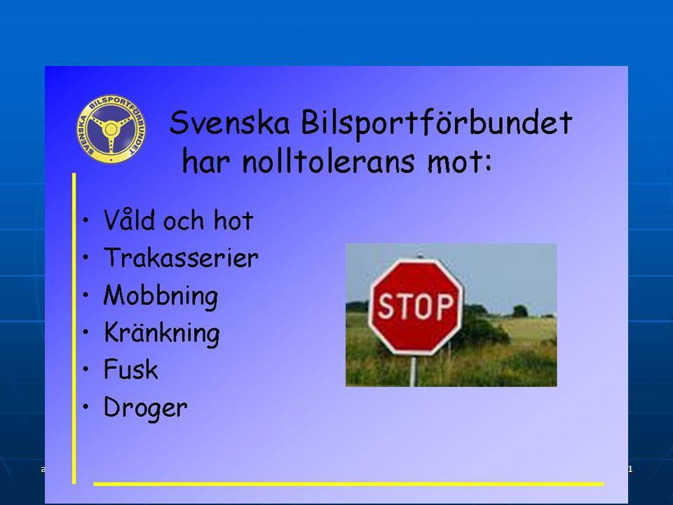 april 2015 ha 10 Så blir Du Rallycrossförare Licensutbildning genomförs av godkänd utbildare.