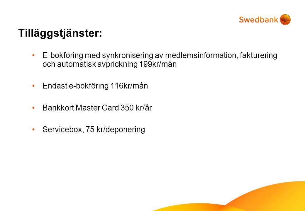 Kassörsutbildning 4 utbildningstillfällen i januari med sammanlagt ca 100 deltagare Kommande utbildningar 8/2 18.00 - 19.30 Fullbokad 22/2 18.00 - 19.30 3/3 18.00 - 19.30 16/3 18.00 - 19.30 www.speedledger.se/rf