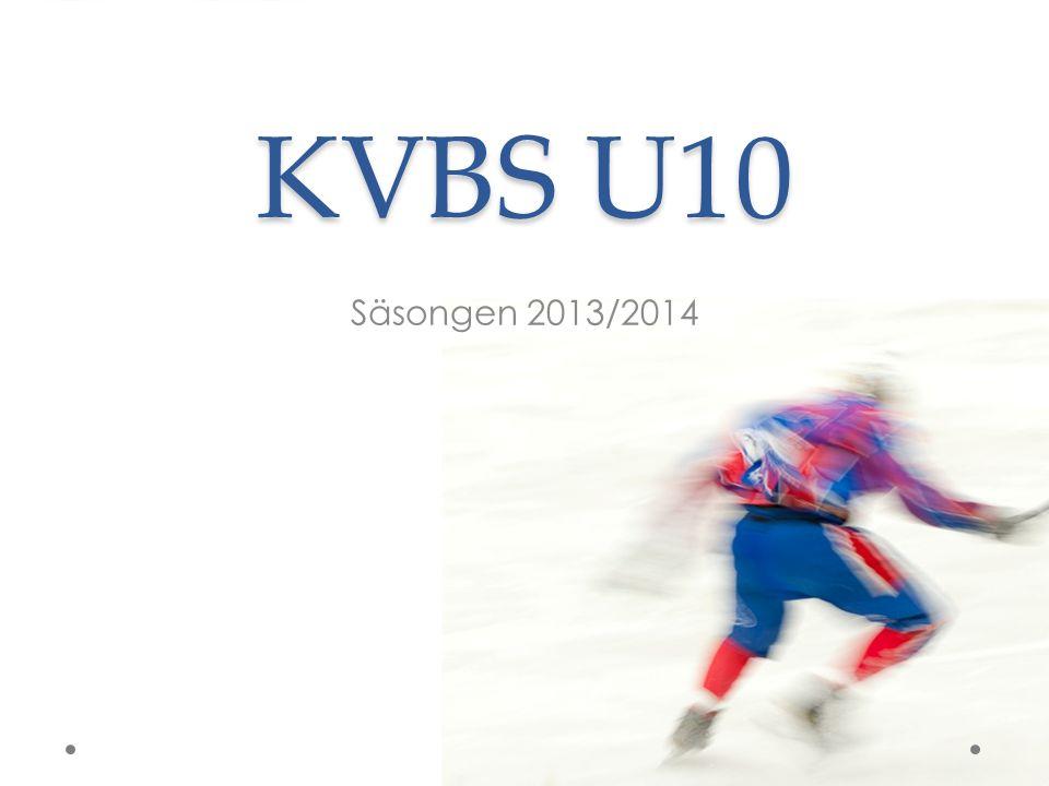 KVBS U10 Säsongen 2013/2014