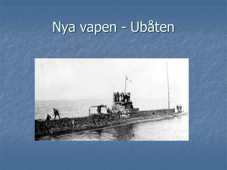 Nya vapen - Ubåten