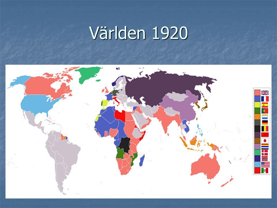 Världen 1920