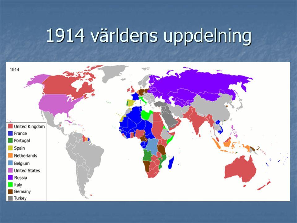 1914 världens uppdelning
