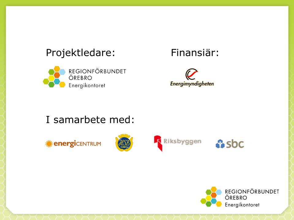 Projektledare:Finansiär: I samarbete med: