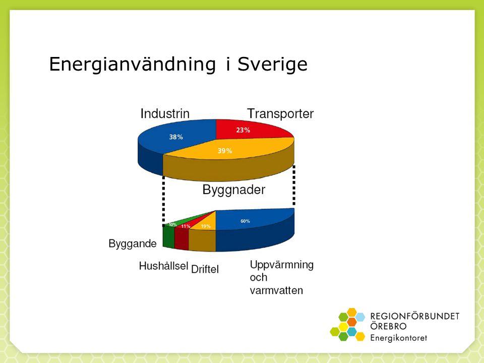 Energianvändning i Sverige