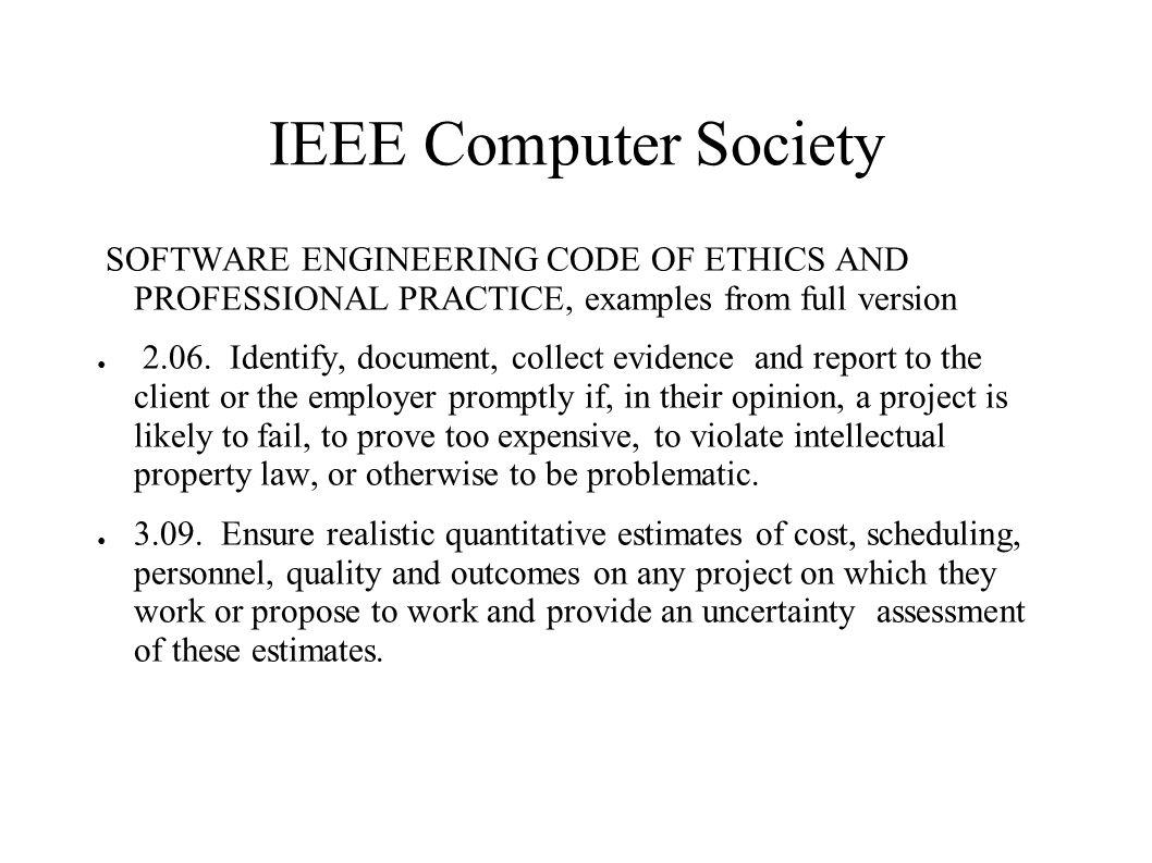 Etisk vägledning för ingenjörer (CF) ● 1.