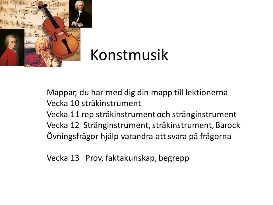 Stråkinstrument Stråkfamiljen består av fyra olika instrument: Fiol/violin Altfiol/ viola Cello/violoncellBasfiol/ Kontrabas Alla kan spelas med stråke, Eller så knäpper man med fingrarna, pizzicato