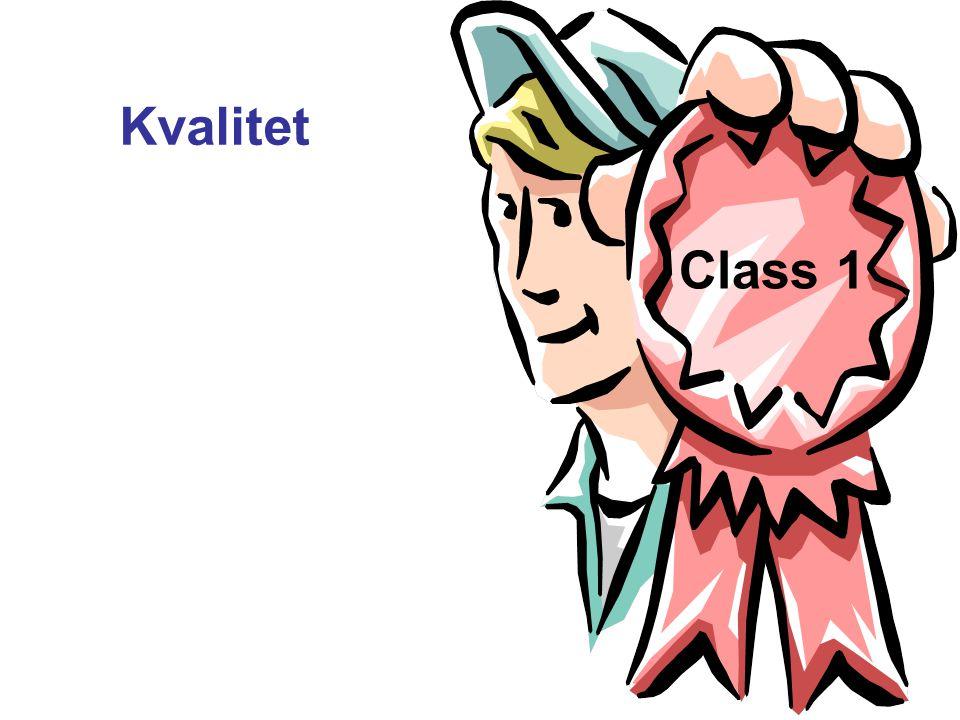 Kvalitet Class 1