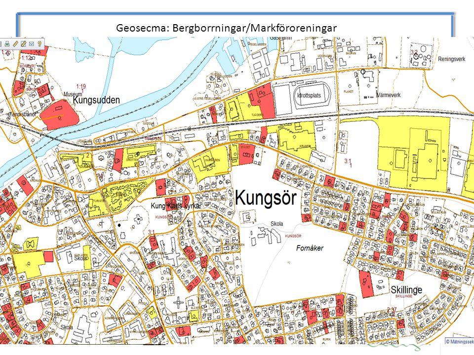Geosecma: Bergborrningar/Markföroreningar