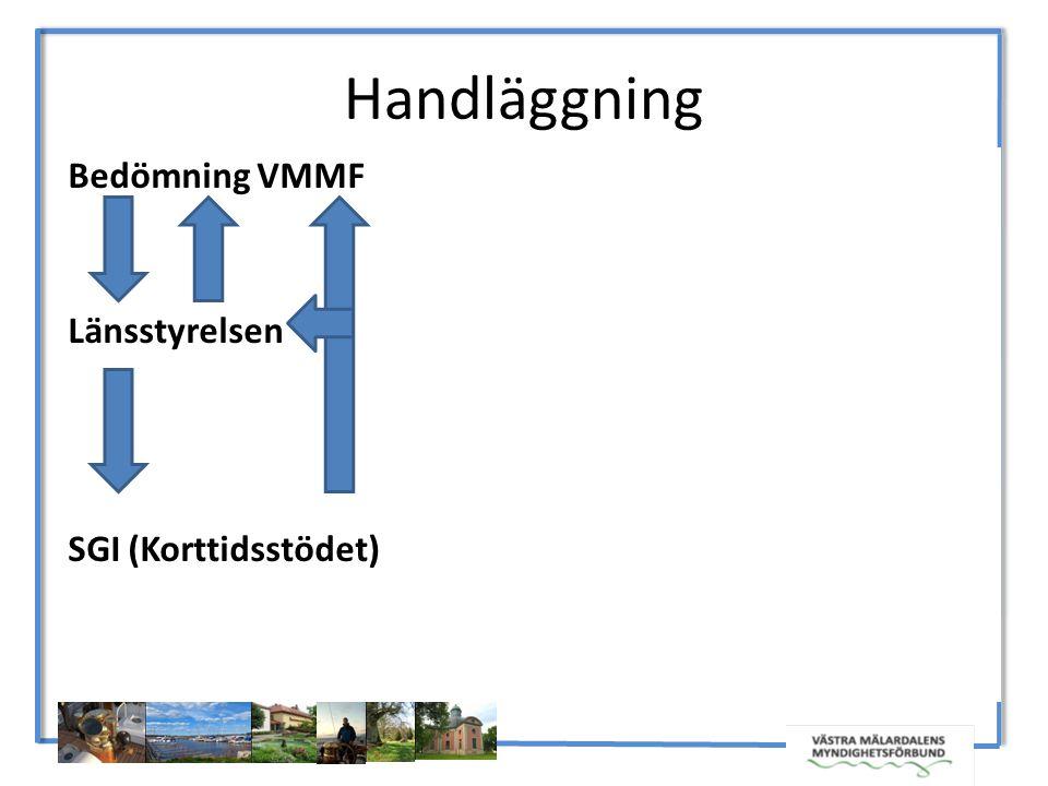 Bedömning VMMF Länsstyrelsen SGI (Korttidsstödet) Handläggning