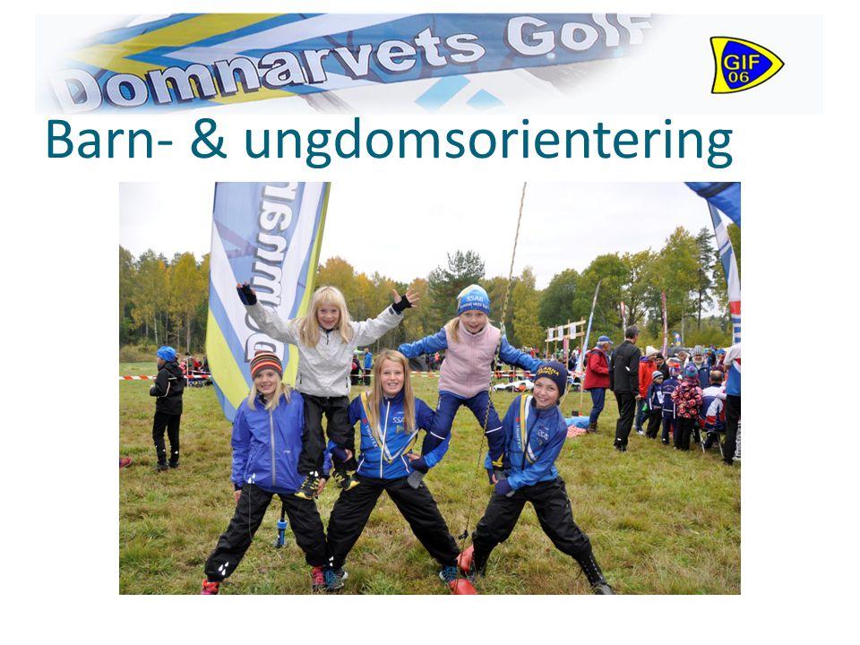 Barn- & ungdomsorientering