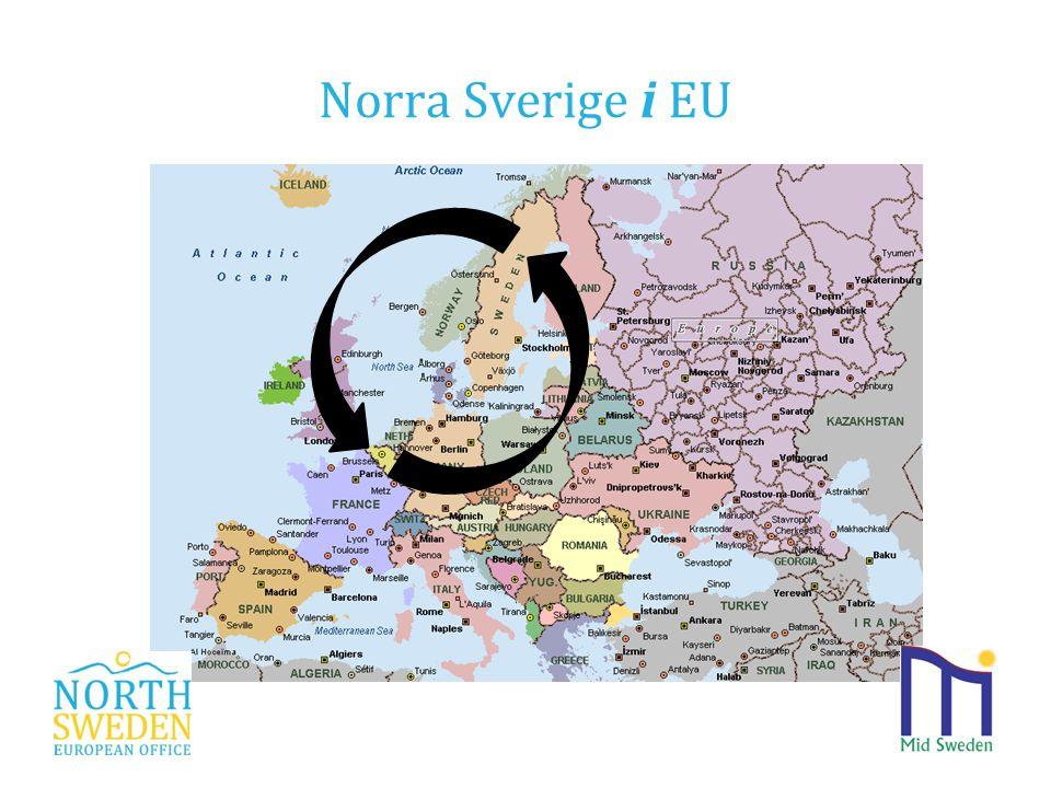 Norra Sverige i EU www.northsweden.eu