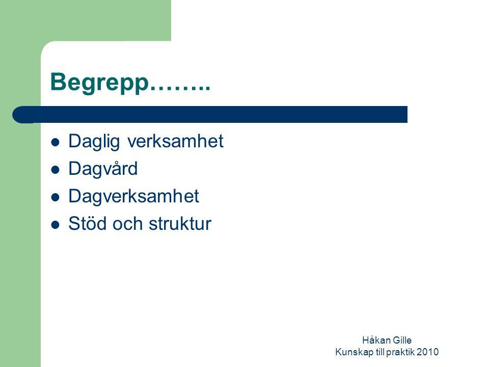 Håkan Gille Kunskap till praktik 2010 Sociala representationer