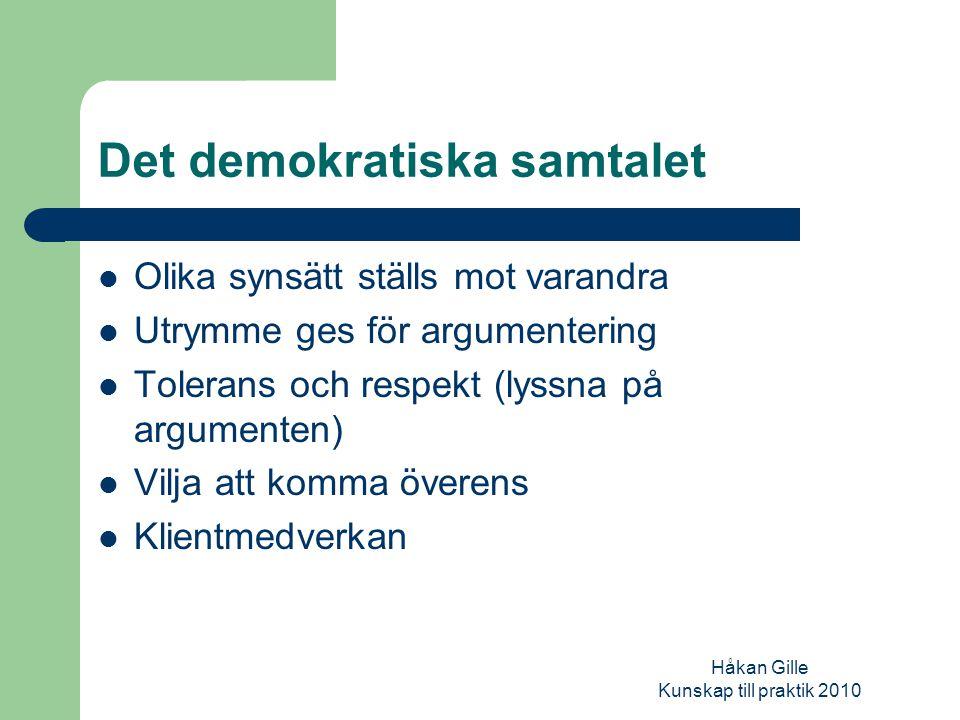Håkan Gille Kunskap till praktik 2010 Administrativa rutiner och regelverk Ekonomi/budget Ansvar och makt (delegation) Formella och informella regler