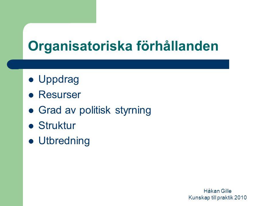 Håkan Gille Kunskap till praktik 2010 Tänk på att samverkan förutsätter…..