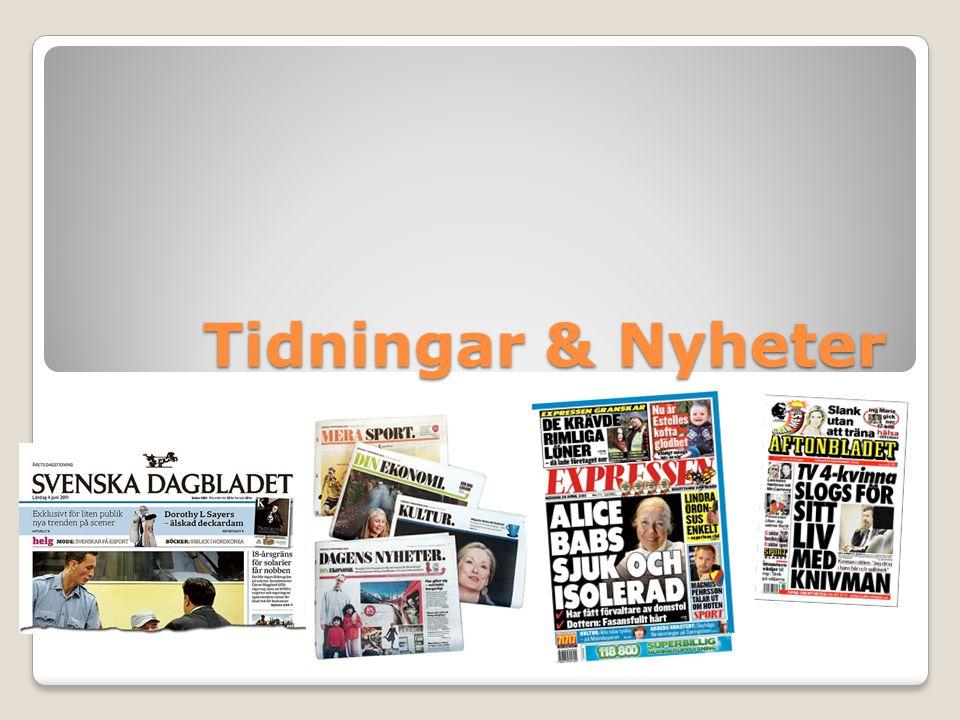 Tidningar & Nyheter