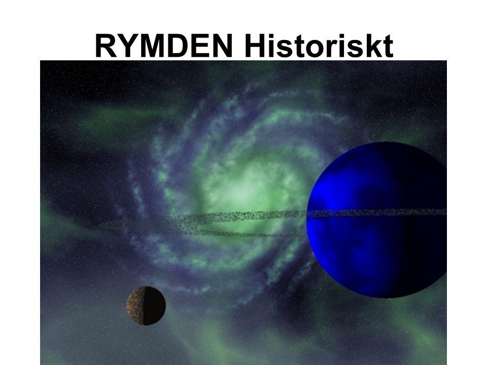 RYMDEN Historiskt