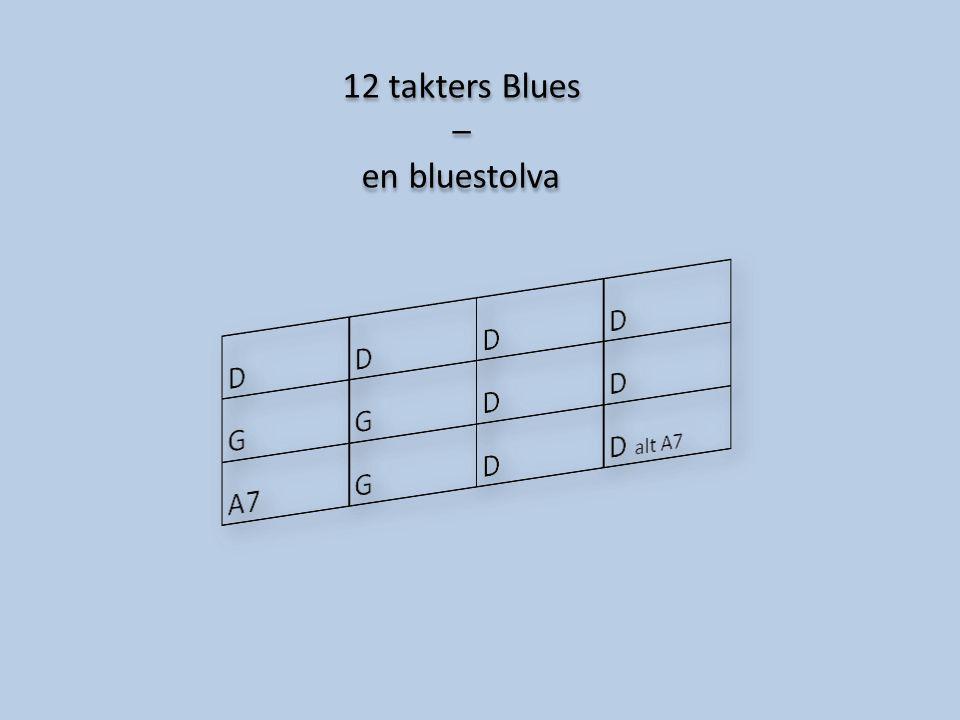 12 takters Blues – en bluestolva 12 takters Blues – en bluestolva