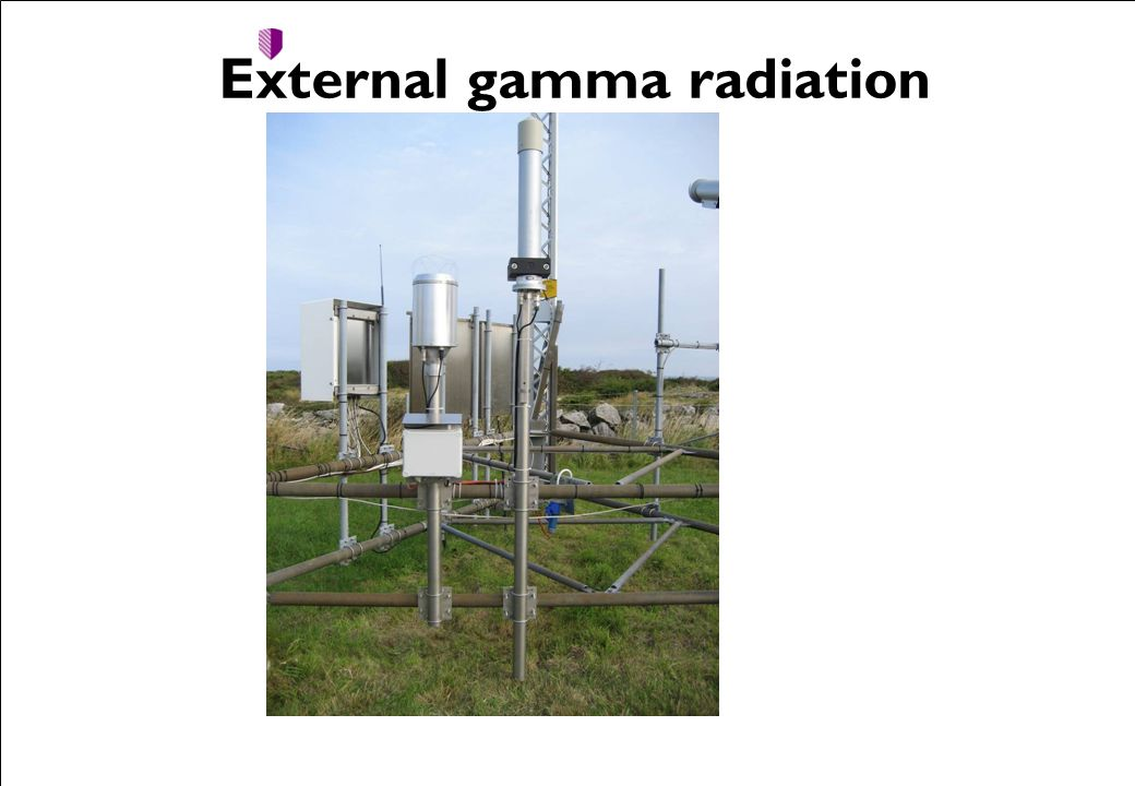 External gamma radiation