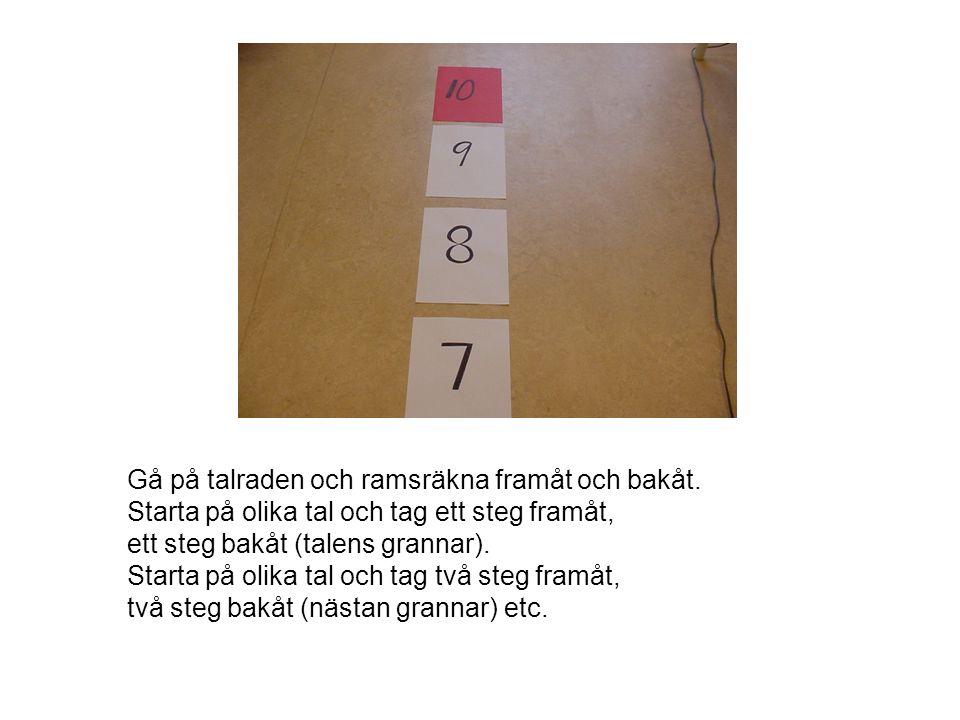 Kapsyler, muggar och byttor Thunholm & Bergehed (Nämnaren, 2002) Samla kapsyler eller knappar Räkna, sortera och jämför mängder Växla till tiotal och hundratal 124
