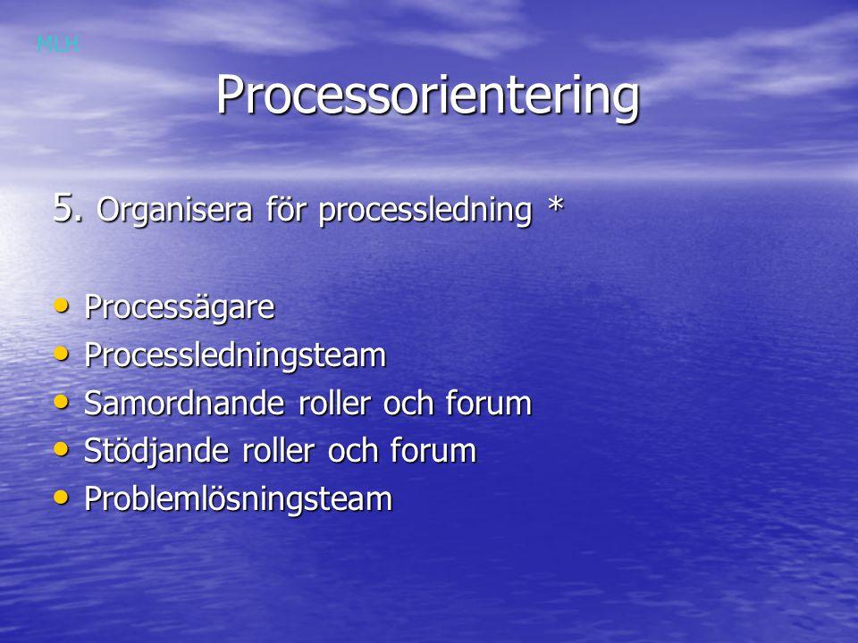 Processorientering Processorientering 5.