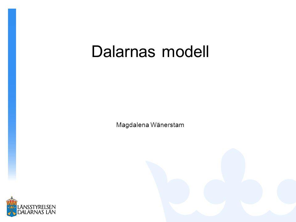 Magdalena Wänerstam Dalarnas modell