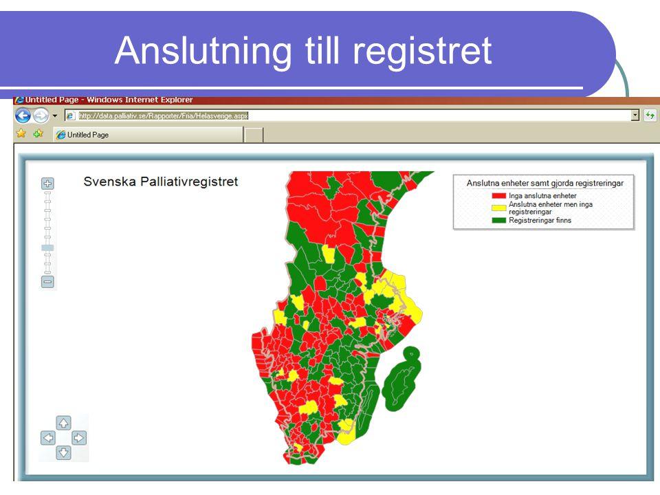 www.palliativ.se Anslutning till registret