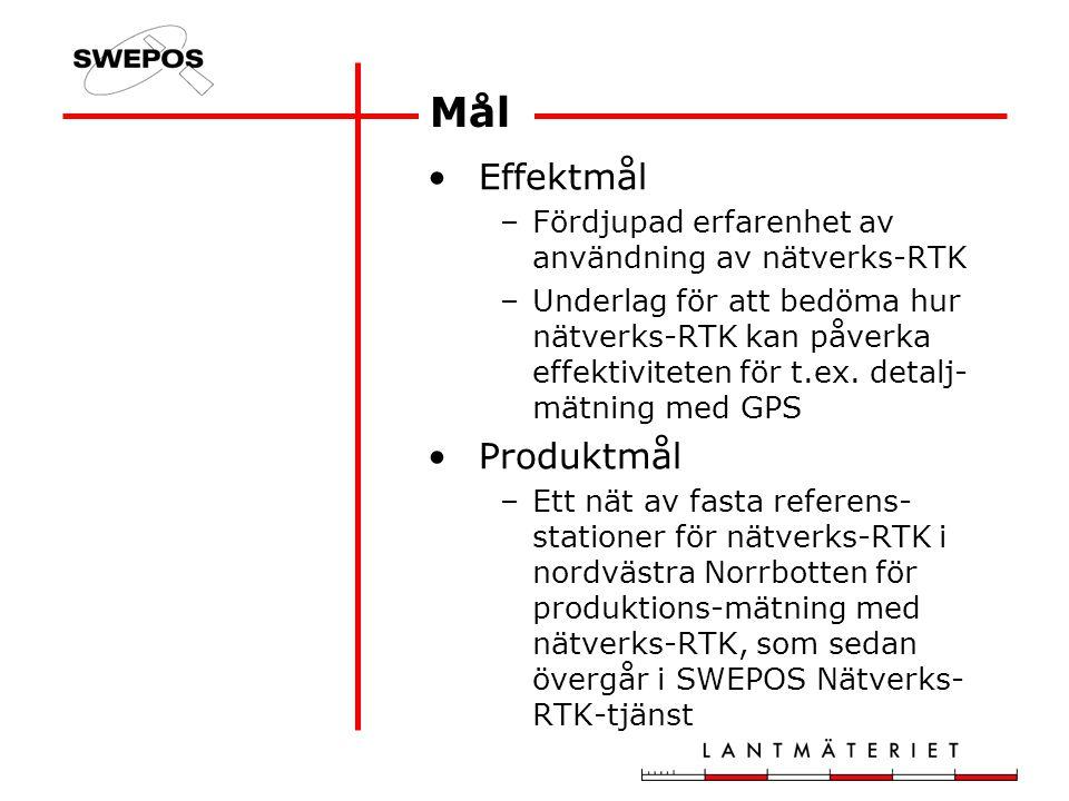 Planering –3 mån Implementering och verifiering –5 mån Användning i produktion –12 mån Utvärdering - löpande under projektet Aktivitetsplan