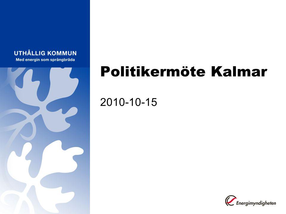 Politikermöte Kalmar 2010-10-15