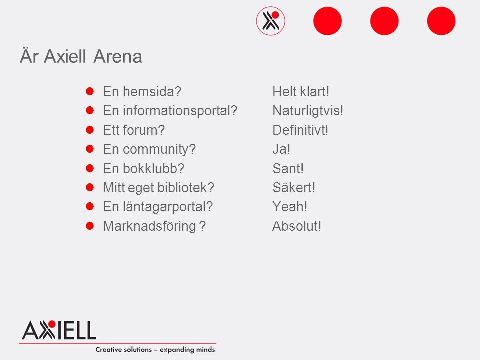 Är Axiell Arena En hemsida. En informationsportal.