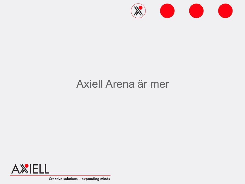 Axiell Arena är mer