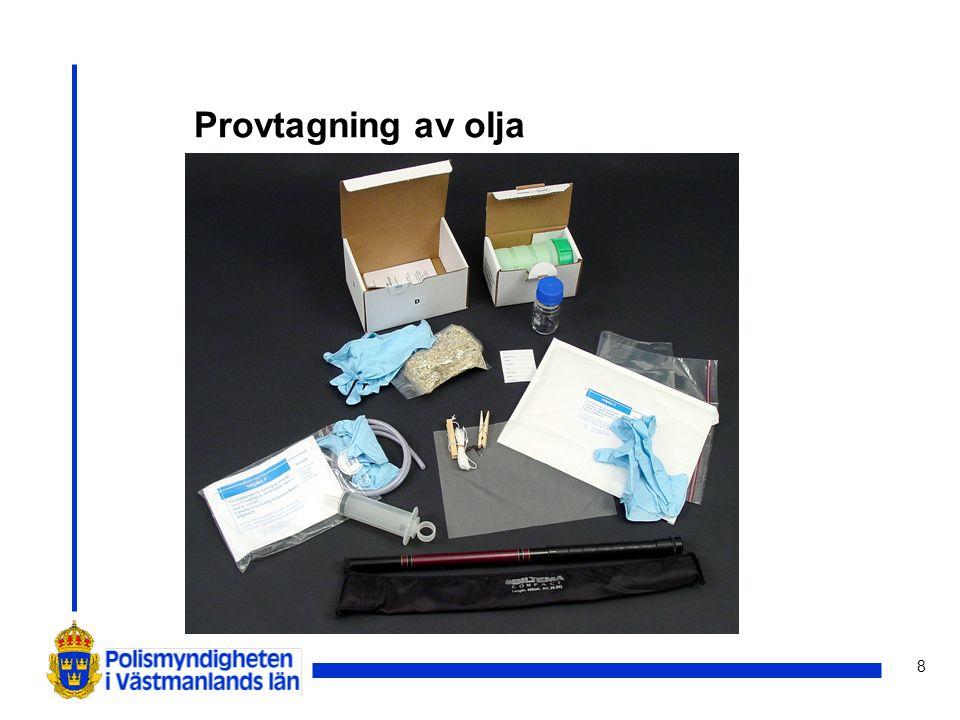 8 Provtagning av olja