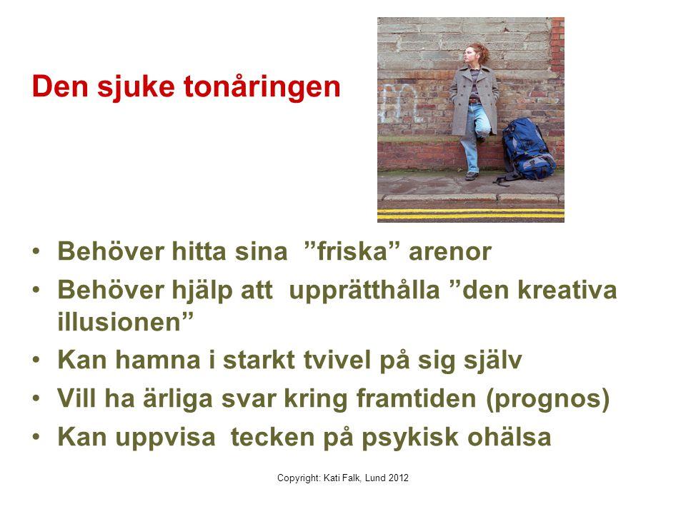 Sjukdomsparadoxen: kroniskt sjuka barn får ofta god självkänsla! Copyright Kati Falk, Lund 2012