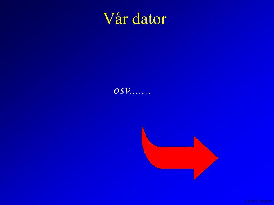 Anders Sjögren Vår dator osv.......