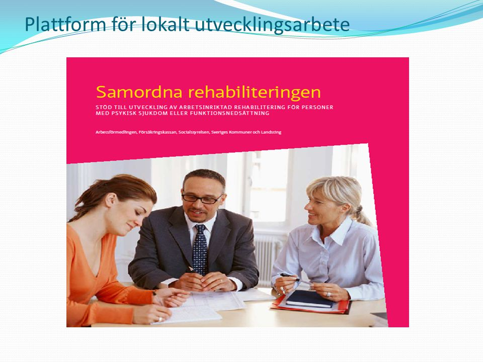 Plattform för lokalt utvecklingsarbete