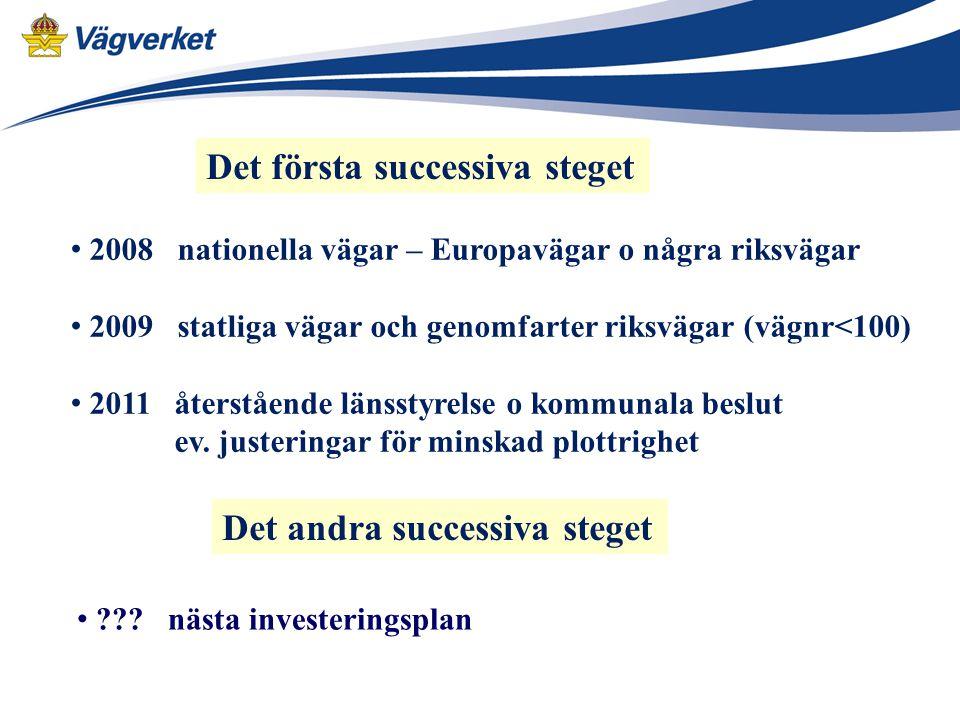 Hastighetsöversynen samordnas med investering i åtgärdsplaner 2010-2021.